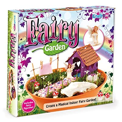 Craft Box Fairy Garden