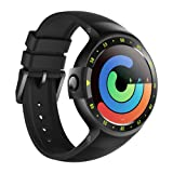 Ticwatch S Smartwatch-Knight,1.4 inch OLED Display, Android Wear 2.0,Compatible with iOS and Android, Google Assistant (Color: Knight)