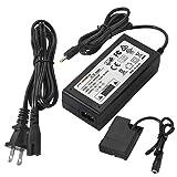 FIT-POWER EH-5 EP-5A AC Power Supply Adapter Charger DC Coupler kit, Dummy EN-EL14/EN-EL14a Battery For Nikon D3100 D3200 D3300 D3400 D5100 D5200 D5300 D5500 D5600 Df P7000 P7100 P7700 D7800 Cameras