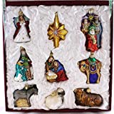 Old World Christmas Nativity Collection Glass Ornament