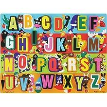 Melissa & Doug 3833 Jumbo ABC Chunky Puzzle