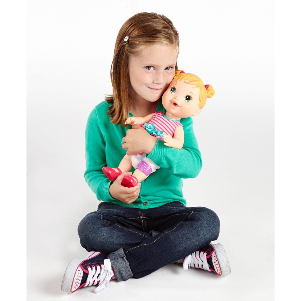 Baby Alive Doll Baby Gets A Boo Boo Blonde New Ebay