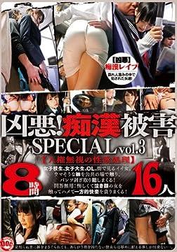 凶悪!痴漢被害 SPECIAL vol.3 [DVD]