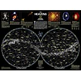 The Heavens [Laminated] (National Geographic Reference Map)