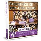 SMARTBOX - Coffret Cadeau - PARENTHÈSE DE BIEN-ÊTRE EN DUO - 925 soins : modelage du corps, soin du visage, accès au spa