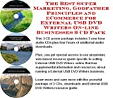 img - for The Best Super Marketing, Godfather Principles and eCommerce for External USB DVD Writers On-line Businesses 3 CD Pack book / textbook / text book