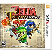 The Legend of Zelda Tri Force Heroes for 3DS Game