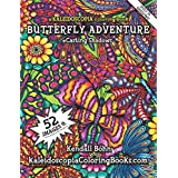 A Kaleidoscopia Coloring Book: Butterfly Adventure