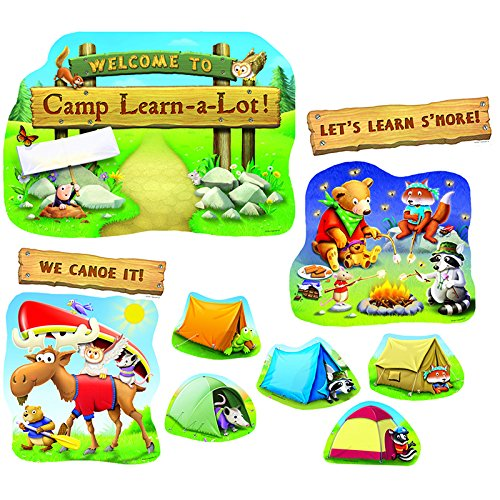 Bulletin Board Camp Learn-a-Lot