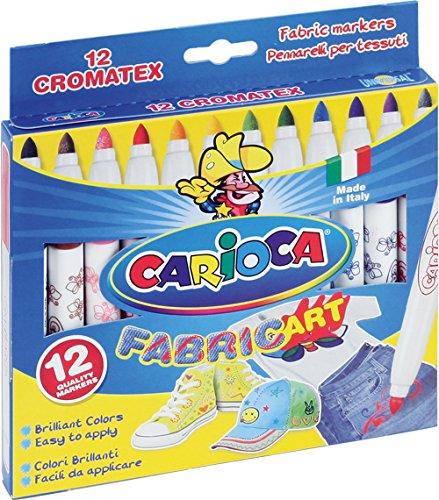 carioca-40957-cromatex-stoff-malstifte-textilmalstifte-12-tlg-set
