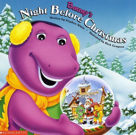 123 the Children`s Book: Barney's Night Before Christmas