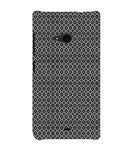 EPICCASE black sparkles Mobile Back Case Cover For Nokia Lumia 535 (Designer Case)