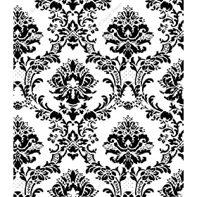 damask stencils home decor