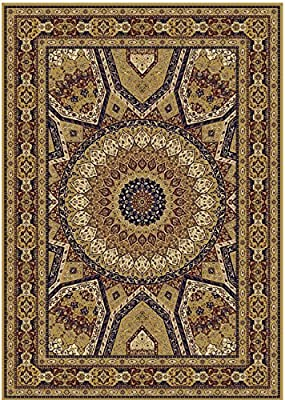 Silk Persian Qum Design Area Rug 8x12 Beige Rug 5x8 Ivory Carpet Hallway Runner 2x8 Area Rugs Multisize Carpets ...