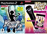 Karaoke Stage 2 Plus Mic Bundle - Amazon Exclusive (PS2)