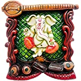 Lord Ganesha / God Ganpati Wall Hanging Home Décor Gift Item- Handicraft Decorative Home & Temple Décor God Figurine...