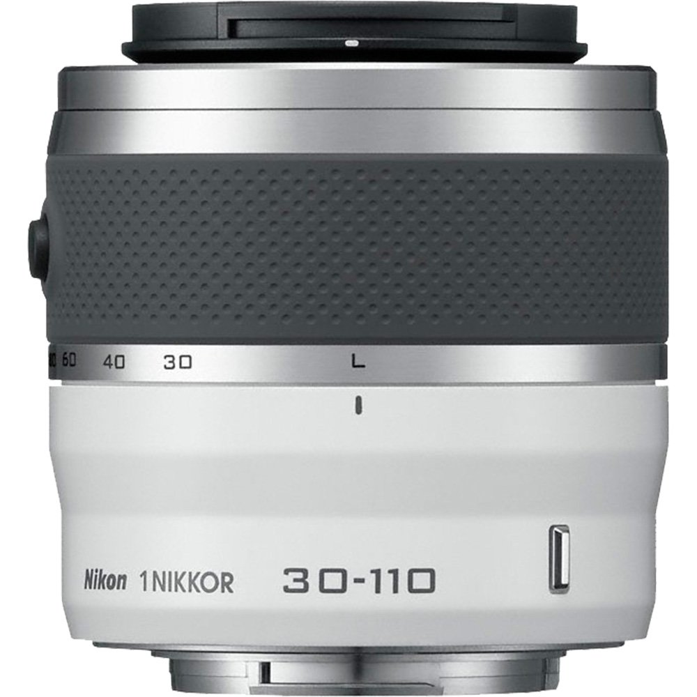 цены на Nikon 1 30-110mm f/3.8-5.6 VR Nikkor Lens (White) with 16GB Card + 3 UV/CPL/ND8 Filters + Kit for S1, S2, J1, J2, J3, J4, V1, V2, V3, AW1 Camera