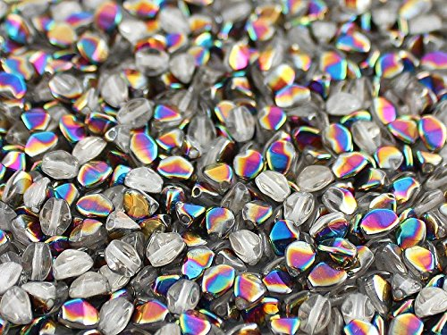 50psc-pinch-czech-pressed-glass-beads-triquetrous-5x35mm-crystal-vitrail