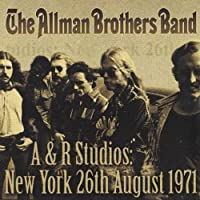 The Allman Brothers - A&R Studios- New York 26th August 1971 (2-LP) Import 2012