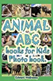 Animal ABC books for Kids Photo book: Photo books for kids consists of animals photos