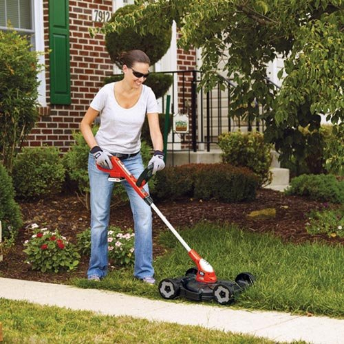 Black & Decker MTC220 12-Inch Lithium Cordless 3-in-1 Trimmer/Edger and Mower, 20-volt picture