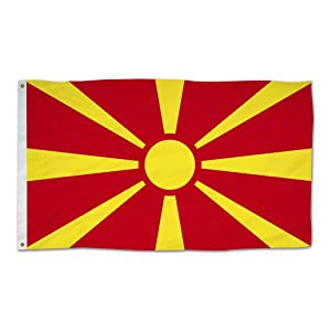 Macedonia National Flag
