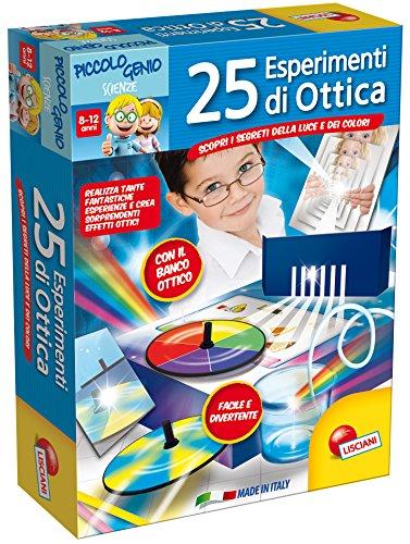 Lisciani Giochi 48984 - Piccolo Genio 25 Esperimenti di Ottica