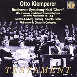 Beethoven: Symphony 9 'Choral' (The Previously Unpublished Live Recording From The Royal Festival Hall, 15.11.1957)