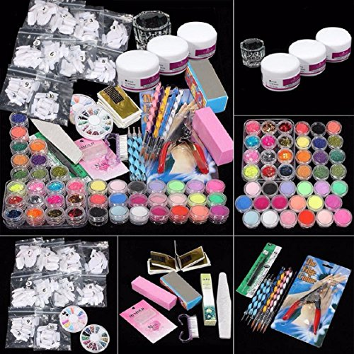 ultimate-nail-art-tools-kit-ikevan-37-in-1-combo-set-professional-diy-uv-gel-nail-art-kit-9w-lamp-dr