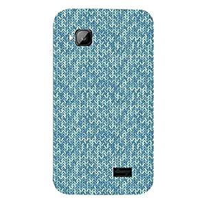 Skin4gadgets KNITTED Pattern 60 Phone Skin for MICROMAX S300