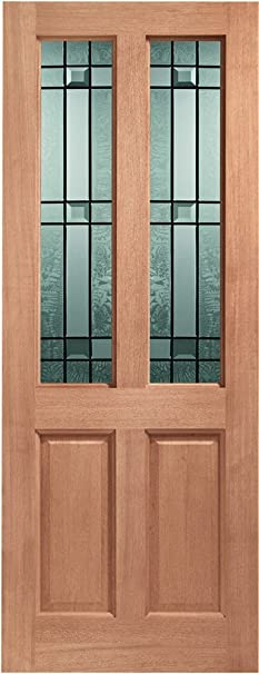 External Hardwood M&T Double Glazed Malton Door with Drydon Glass