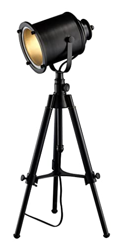 Adjustable Tripod Table Lamp, Restoration Black - Dimond Lighting D1734