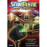 Startastic holiday light show laser light projector, static