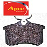 Apec Rear Brake Pads - Audi A2 - 1.4 TDi - 9/2000-4/2005