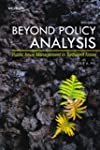 Beyond Policy Analysis: Public Issue...