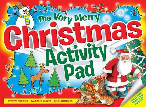 The Very Merry Christmas Activity Pad: Festive Puzzles, Amazing Mazes, Cool Doodles, Fantastic Fun! (Activity Book)