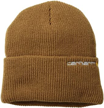 Carhartt Men's Wetzel Watch Hat, Carhartt Brown, One Size