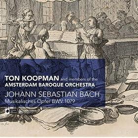 Thematis Regii Elaborationes Canonicae - Musikales Opfer, BWV 1079: Canon a 2 cancrizans