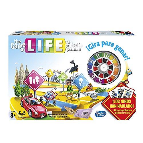 Hasbro Gaming - Juego de tablero The Game of Life (04000105)