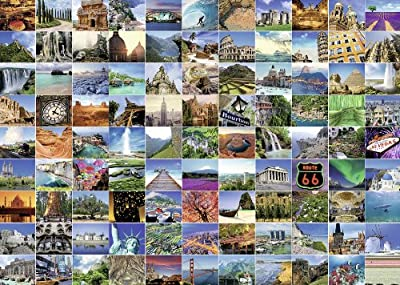 Ravensburger 99 Beautiful Places on Earth Jigsaw Puzzle (1000-Piece) from Ravensburger