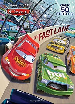 The Fast Lane (Disney/Pixar Cars) (Super Coloring Book)