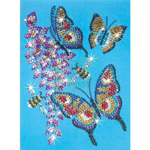 KSG Sequin Arts & Beads Butterfly