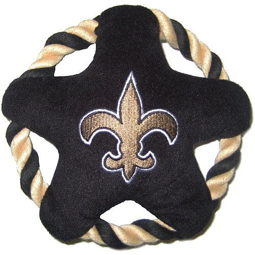 Pets First Star Disk Toy, New Orleans Saints at Amazon.com