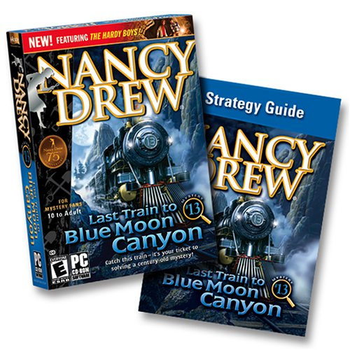 Nancy Drew: Last Train to Blue Moon Canyon Game + Strategy Guide