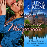 Lady Dearing's Masquerade (       UNABRIDGED) by Elena Greene Narrated by Robin Rowan