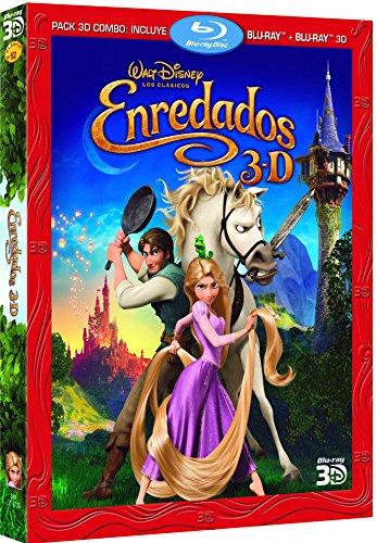 Enredados (Combo BR + BR 3D) [Blu-ray]
