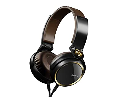 Sony MDRXB600IP Noir, Marron