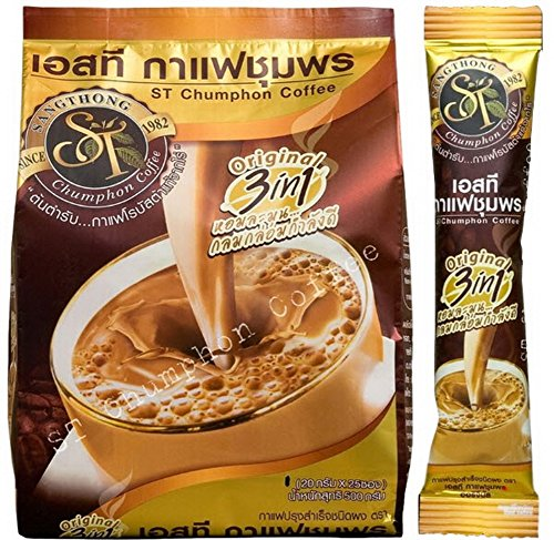 NEW TOP BRAND AWARDS Premix Instant Coffee Original Taste Best 100% Robusta, GOLD (Davidoff Hot Water Set compare prices)
