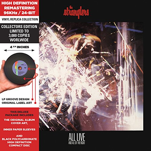 The Stranglers - All Live And All Of The Night - Cardboard Sleeve - High-Definition Cd Deluxe Vinyl Replica - Zortam Music
