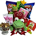 I'm Toad-ally Yours! Valentines Day Chocolate and Candy Gift Basket